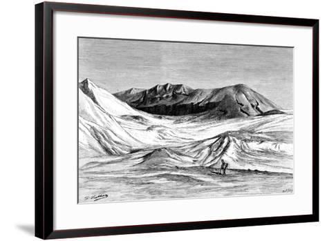 Jebel Khanfusa, the Sahara Desert, North Africa, 1895-Barbant-Framed Art Print