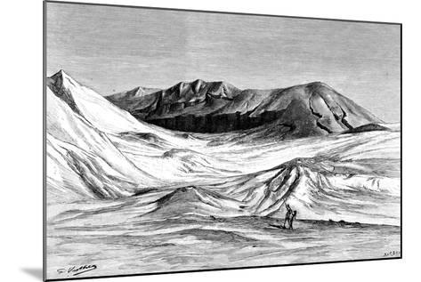 Jebel Khanfusa, the Sahara Desert, North Africa, 1895-Barbant-Mounted Giclee Print