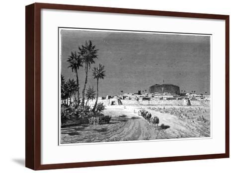 View of Murzuk, C1890-Barbant-Framed Art Print