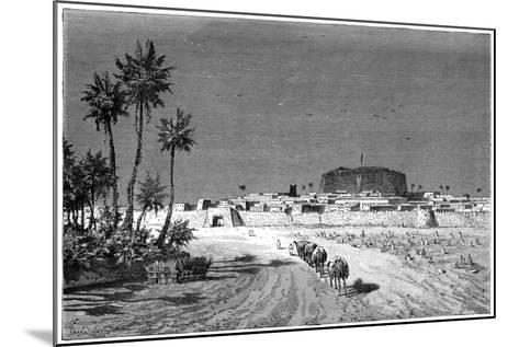View of Murzuk, C1890-Barbant-Mounted Giclee Print