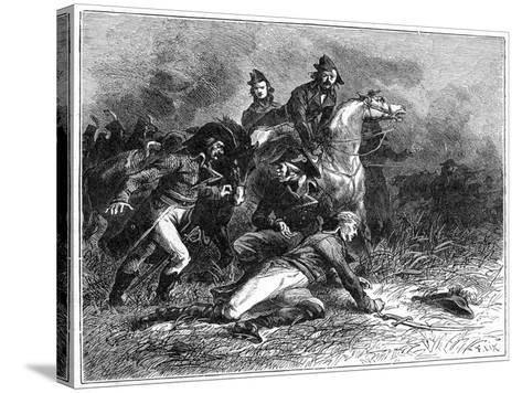 Death of Louis Charles Antoine Desaix, French General and Military Leader, 1898-Barbant-Stretched Canvas Print