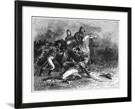 Death of Louis Charles Antoine Desaix, French General and Military Leader, 1898-Barbant-Framed Art Print