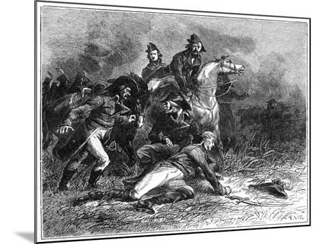 Death of Louis Charles Antoine Desaix, French General and Military Leader, 1898-Barbant-Mounted Giclee Print