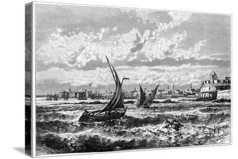 Tripoli from the Roadstead, C1890-Barbant-Stretched Canvas Print
