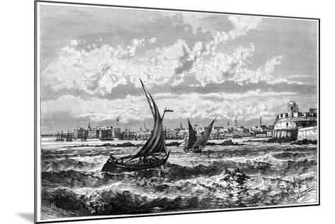 Tripoli from the Roadstead, C1890-Barbant-Mounted Giclee Print