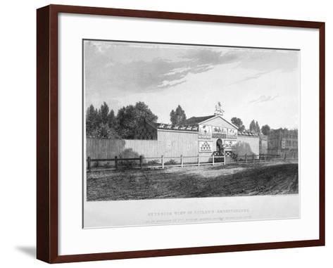 Astley's Amphitheatre, Westminster Bridge Road, Lambeth, London, C1825-Charles John Smith-Framed Art Print