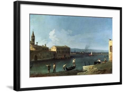 View of Venice, 18th Century-Canaletto-Framed Art Print