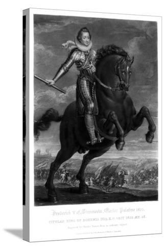 Frederick V, Elector Palantine-Charles Turner-Stretched Canvas Print