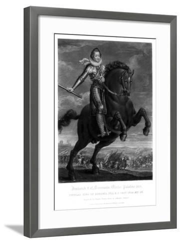 Frederick V, Elector Palantine-Charles Turner-Framed Art Print