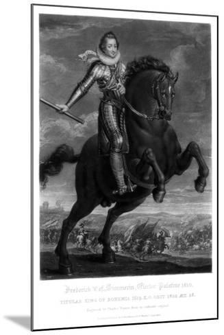 Frederick V, Elector Palantine-Charles Turner-Mounted Giclee Print