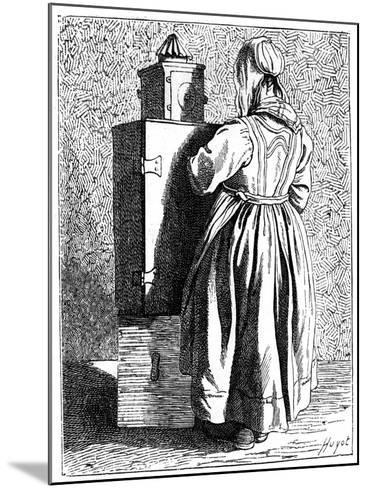 A Magic Lantern, 1737-1742- Bouchardon-Mounted Giclee Print