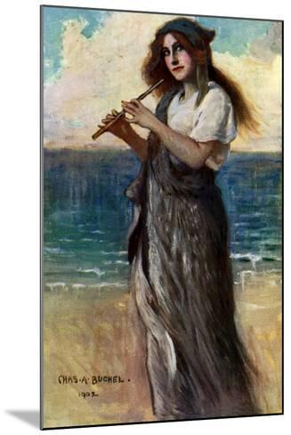 Nancy Price (1880-197), English Actress, as 'Pallas Athene' in Ulysses, 1902-Charles A Buchel-Mounted Giclee Print