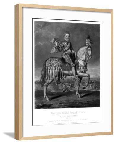 Henry IV, King of France-Charles Turner-Framed Art Print