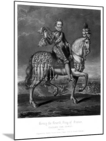 Henry IV, King of France-Charles Turner-Mounted Giclee Print