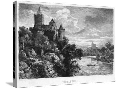 Rudelsburg, Germany, C1900-Carl Jander-Stretched Canvas Print