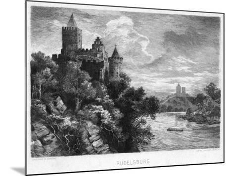 Rudelsburg, Germany, C1900-Carl Jander-Mounted Giclee Print