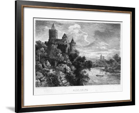 Rudelsburg, Germany, C1900-Carl Jander-Framed Art Print