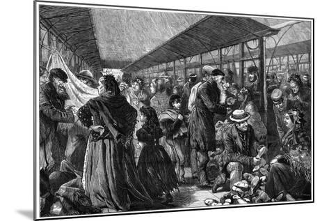 The Old Clothes Exchange, Phil's Building, Houndsditch, London, 1882-Charles Joseph Staniland-Mounted Giclee Print