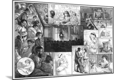 An Entertainment at King's College Hospital, 1885-Charles Joseph Staniland-Mounted Giclee Print