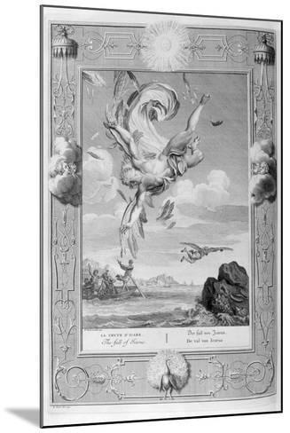 The Fall of Icarus, 1733-Bernard Picart-Mounted Giclee Print