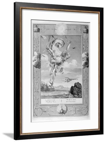 The Fall of Icarus, 1733-Bernard Picart-Framed Art Print