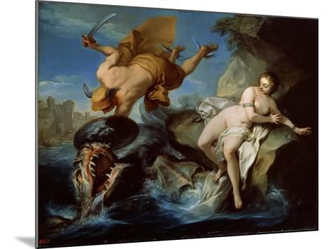 Perseus and Andromeda, 17th Century-Carle van Loo-Mounted Giclee Print