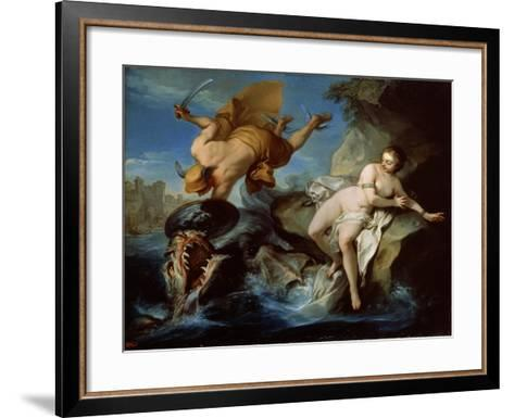 Perseus and Andromeda, 17th Century-Carle van Loo-Framed Art Print
