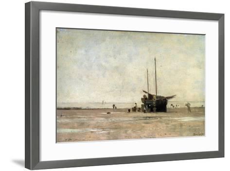 The Seashore, End of the 1860S Early 1870S-Charles François Daubigny-Framed Art Print