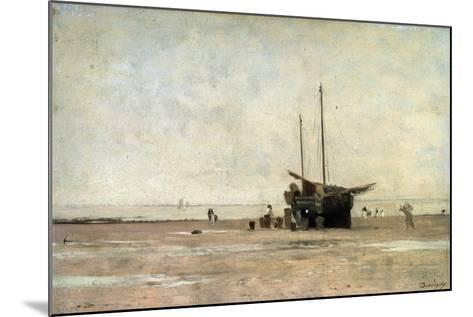 The Seashore, End of the 1860S Early 1870S-Charles François Daubigny-Mounted Giclee Print