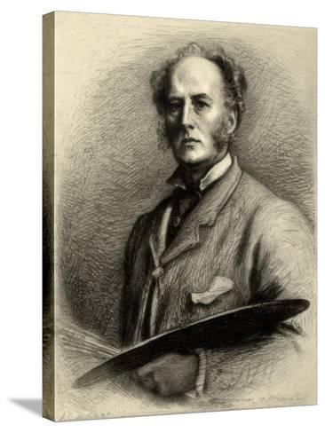 John Everett Millais, British Artist, C1880-1882-Charles Waltner-Stretched Canvas Print