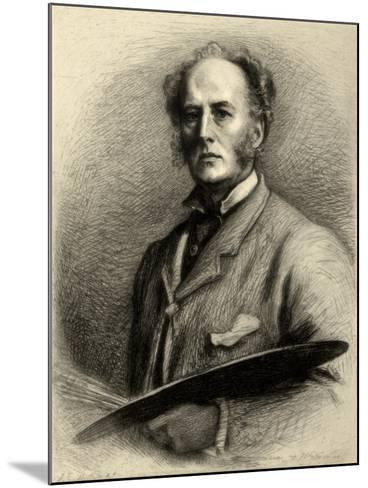 John Everett Millais, British Artist, C1880-1882-Charles Waltner-Mounted Giclee Print