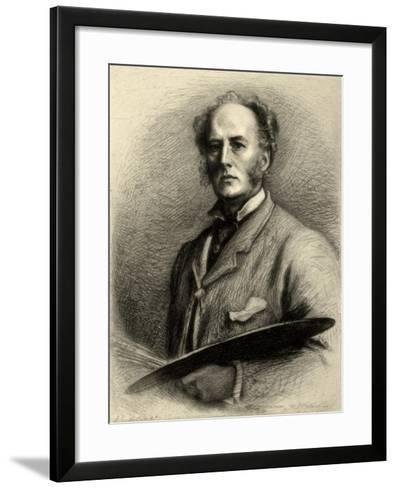 John Everett Millais, British Artist, C1880-1882-Charles Waltner-Framed Art Print