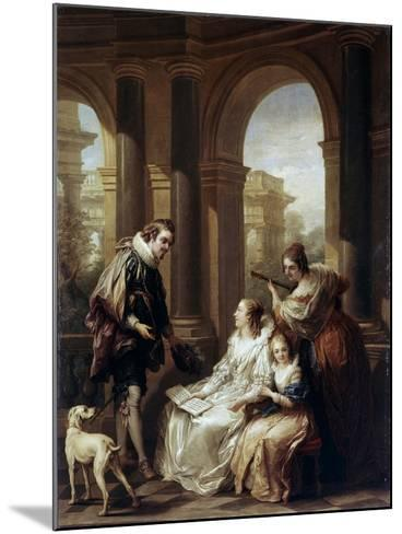 The Spanish Concert, 1754-Carle van Loo-Mounted Giclee Print