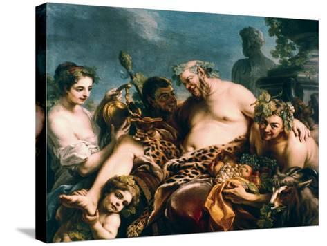 Drunken Silenus, 1747-Carle Vanloo-Stretched Canvas Print