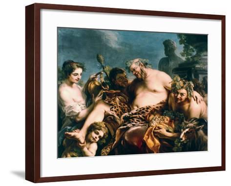 Drunken Silenus, 1747-Carle Vanloo-Framed Art Print