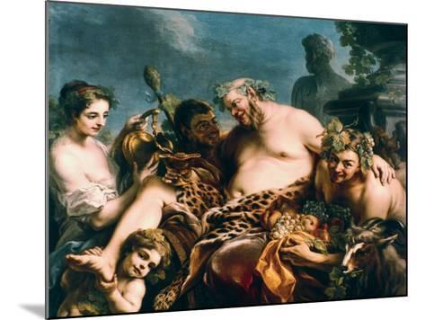 Drunken Silenus, 1747-Carle Vanloo-Mounted Giclee Print