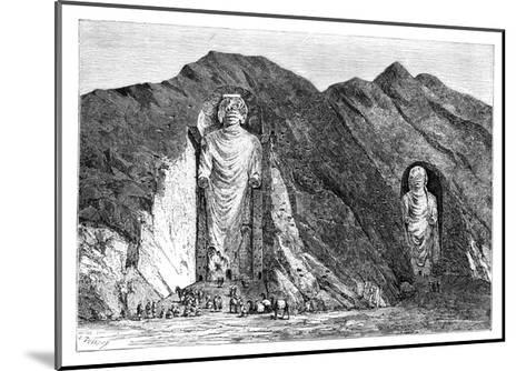 Colossal Idols, Upper Bamlan Valley, Afghanistan, 1895-Charles Barbant-Mounted Giclee Print
