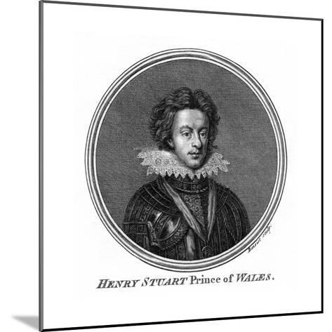 Henry Frederick Stuart, Prince of Wales- Benoist-Mounted Giclee Print