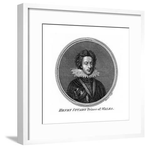 Henry Frederick Stuart, Prince of Wales- Benoist-Framed Art Print