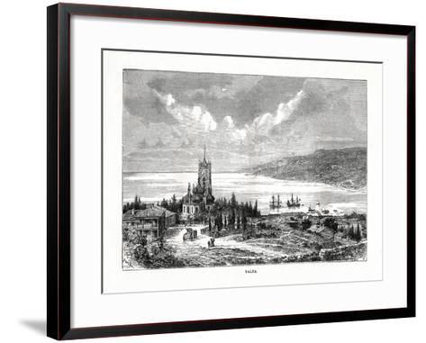 Yalta, Southern Ukraine, 1879-C Laplante-Framed Art Print