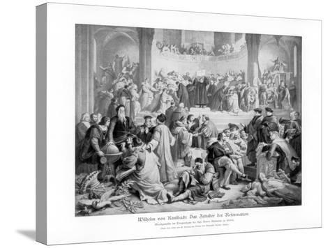 The Age of the Reformation, 1900- Benoist-Stretched Canvas Print