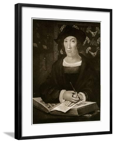 Joris Van Zelle, C1519-Bernaert Van Orley-Framed Art Print