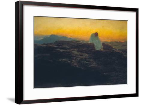 The Temptation in the Wilderness, 1898-Briton Riviere-Framed Art Print