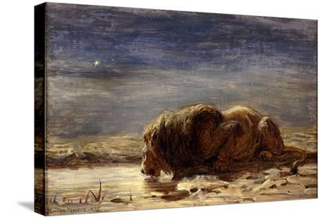 The King Drinks, 1875-Briton Riviere-Stretched Canvas Print