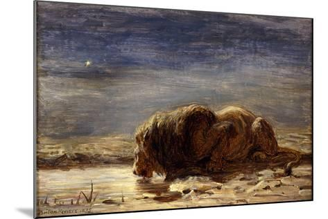 The King Drinks, 1875-Briton Riviere-Mounted Giclee Print