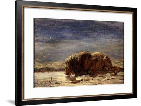 The King Drinks, 1875-Briton Riviere-Framed Art Print