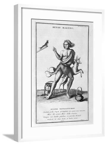A Representation of March, 1757-Bernard De Montfaucon-Framed Art Print