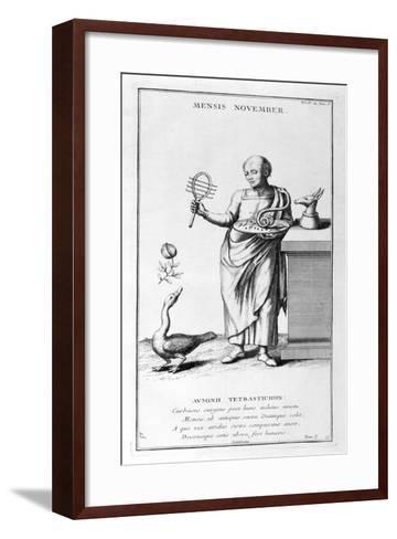 A Representation of November, 1757-Bernard De Montfaucon-Framed Art Print