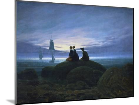 Moonrise over the Sea, 1774-Caspar David Friedrich-Mounted Giclee Print