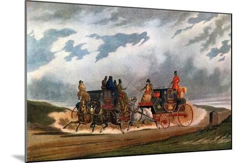 Half Way (Leeds Coac), 1837-Charles Cooper Henderson-Mounted Giclee Print